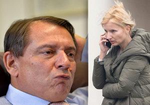 Paroubek žaluje bodyguarda svojí ženy: Kvůli napadání před jejich domem