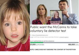Nepokoje při vyšetřování zmizení Maddie: Rodiče dívky odmítají detektor lži