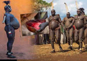 Etiopský kmen Bodi