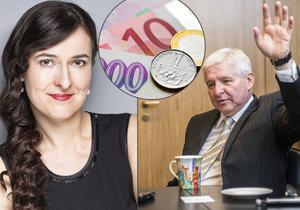 Koruna posílí z minuty na minutu, zbavte se eur. Ekonomka: Začíná ruská ruleta