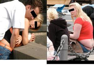 Sex na Karlově mostě i okukování Klause: Bizarní fotografie, které musíte vidět.