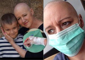Tereza (36) onemocněla rakovinou. Byla psychicky na dně.