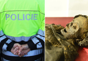 Vášnivý pár se oddával milostným hrátkám v katakombách nedaleko mumií. Případ musela řešit policie.