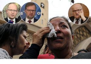 Čeští politici odsoudili teroristické útoky v Egyptě...