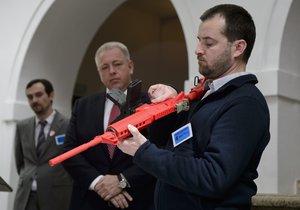 Zbraněmi k vyššímu bezpečí? Útok proti teroristům má dostat oporu v ústavě.