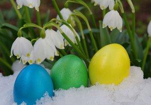 Letos na Velikonoce musí koledníci počítat i se sněhem