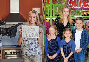 Hvězda seriálu Ulice má 9 sourozenců.