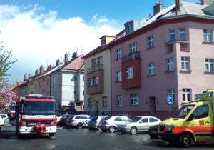 Hasiči zasahovali v Kounické ulici v Praze.