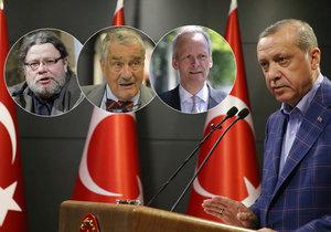 Trojice českých exministrů zahraničí: Trumpova gratulace je jen gestem. Ví, že Turecko potřebuje...