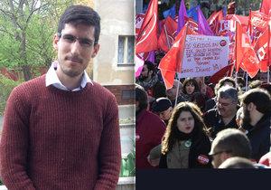 Julio popsal realitu mladých Španělů při hledání práce.