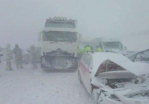 Hromadná nehoda na Slovensku