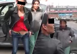 Řidička ukázala policistům namísto dokladů své přirození!