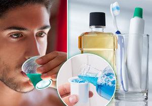 Ústní voda je všestranný pomocník v domácnosti.