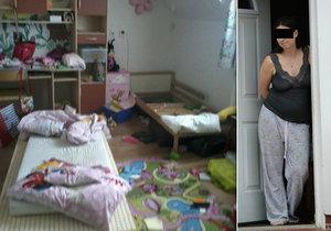 Matka šesti dětí je expertkou na ničení nemovitostí: Tenhle »chlív« není můj! brání se žena.