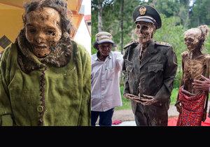 Pro příslušníky kmene Toraja není smrt konec života