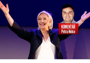 Francouzská prezidentská kandidátka Marine Le Penová postoupila do 2. kola volby.