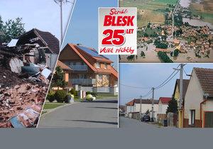 Osudy obcí, které smetla povodeň: První dům stál už za dva měsíce!