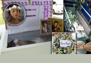 Poslední přání filipínské modelky: Umřu krásná! Rodina jí to dokonale splnila