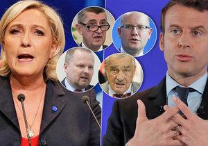 Čeští politici Blesku sdělili svůj názor na výsledek prvního kola francouzských prezidentských voleb.