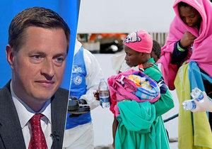 Šéf Organizace pro pomoc uprchlíkům Rozumek: Uprchlíci jsou lidé jako my.
