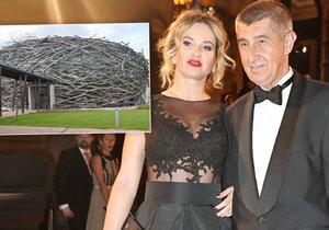 Andrej a Monika Babišovi se v červenci vezmou na farmě Čapí hnízdo.