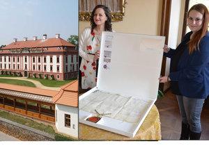 Privilegia udělená Marií Terezií jsou na zámku Kunín k vidění po dobu 14 dní.