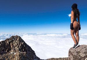 Tímto snímkem způsobila Jaylene Cook na Novém Zélandu poprask.