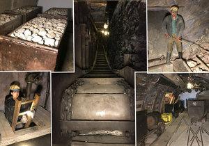 Rudný a uhelný důl se nachází ve spodní části Národního technického muzea v Praze 7.