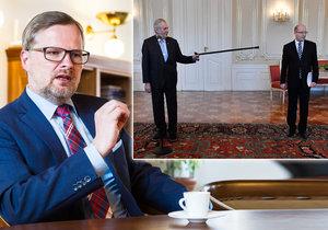 Petr Fiala v rozhovoru pro Blesk.cz mluvil o tom, co se dělo na Hradě i kolem Andreje Babiše.