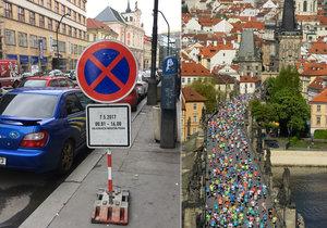 """Maraton zavaří řidičům v centru Prahy! """"Přeparkujte včas, jinak vás odtáhnou,"""" říká radnice"""