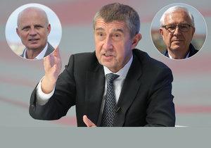 Prezidentští kandidáti Horáček i Drahoš by Andreje Babiše na žádost premiéra Sobotky odvolali rychle.