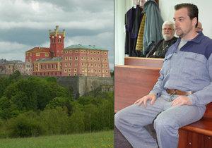 Petr Kramný má ve věznici Mírov sedm spolubydlících.