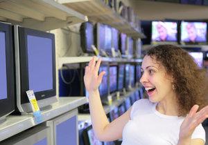 Nákup nové televize