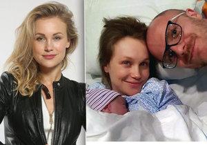 Vlastina Svátková o dramatickém porodu třetího syna: Měl kolem krku pupeční šňůru!
