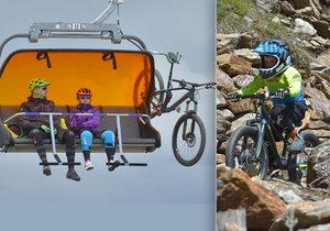 Areál Klínovec u Božího Daru na Karlovarsku nabízí i letní radovánky! V Trail Parke je 24 kilometrů stezek určených pro jízdu na horských kolech.