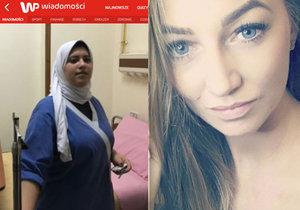 Zdravotní sestřička z egyptské nemocnice popsala zoufalý boj o život Magdy (†27).