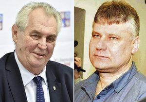 Miloš Zeman se s Kajínkem prý nesetká.
