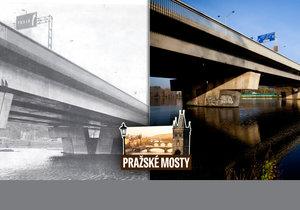 Most Barikádníků zbourali: Byl plný vody a bezdomovců