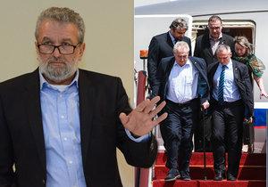"""Poslanec Gabal doufá, že prezident Zeman neudělá v Bruselu """"extempore"""" jako v Číně."""