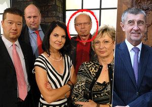 Babišovým favoritem na ministra financí je nově poslanec Pilný, který se v minulosti objevil i v pořadu Den D.