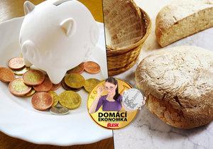 Kolik stojí upečení domácího chleba?