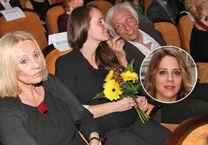 Bývalá přítelkyně Anety Langerové Olga Špátová vrkala s přítelem Janem Malířem před zraky matky Olgy Sommerové.