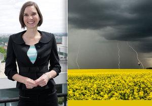 Užijte si horký den, brzo se ochladí o 12 °C, vzkazuje meteoroložka Dagmar Honsová.