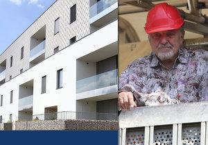 Karel Gott bydlí v bytě za 21 milionů.