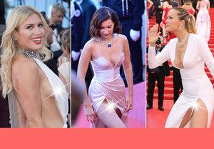 V Cannes toho bylo k vidění opravdu hodně. Více, než si hvězdy samy přály.