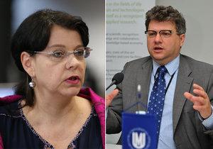 Přiznání »rodinné« ministryně Marksové: S manželem už nežiji!
