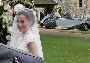 Nevěsta Pippa Middleton se vdává.