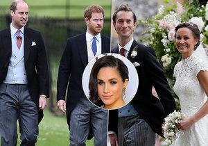 Proč princ Harry nevzal na svatbu Pippy Middleton svou přítelkyni Meghan Markle?