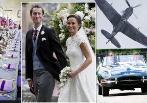 Kolik museli novomanželé Pippa a James za svatbu zaplatit?