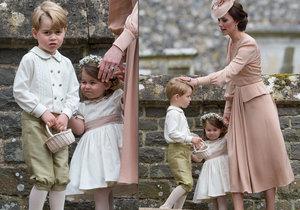 Proč princ George plakal na svatbě Pippy Middleton?